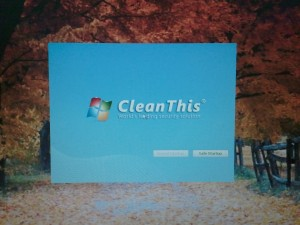 CleanThis splash screen