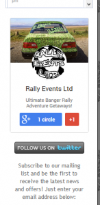 Google+ badge after shifting to the left